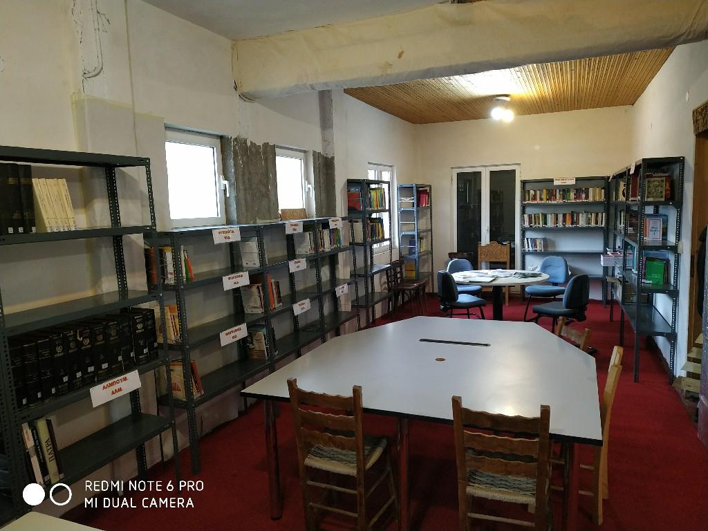 Εγκαίνια Δανειστικής Βιβλιοθήκης Βαλτεσινίκου