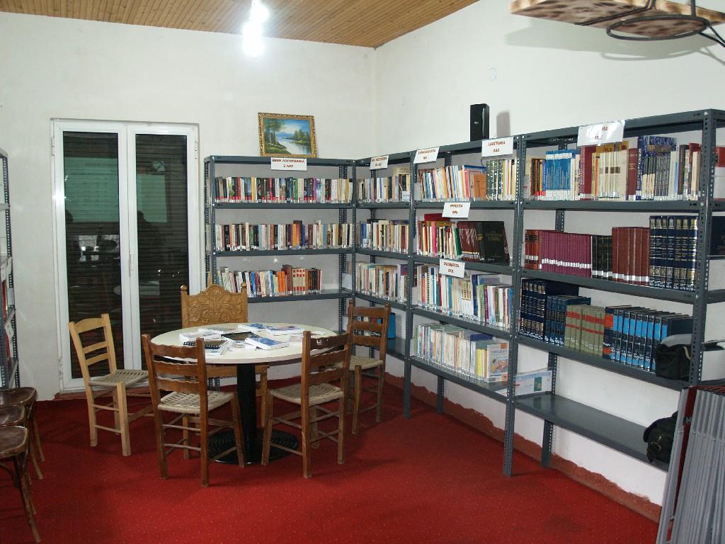 Ολοκλήρωση εργασιών αναβάθμισης Δανειστικής Βιβλιοθήκης Βαλτεσινίκου