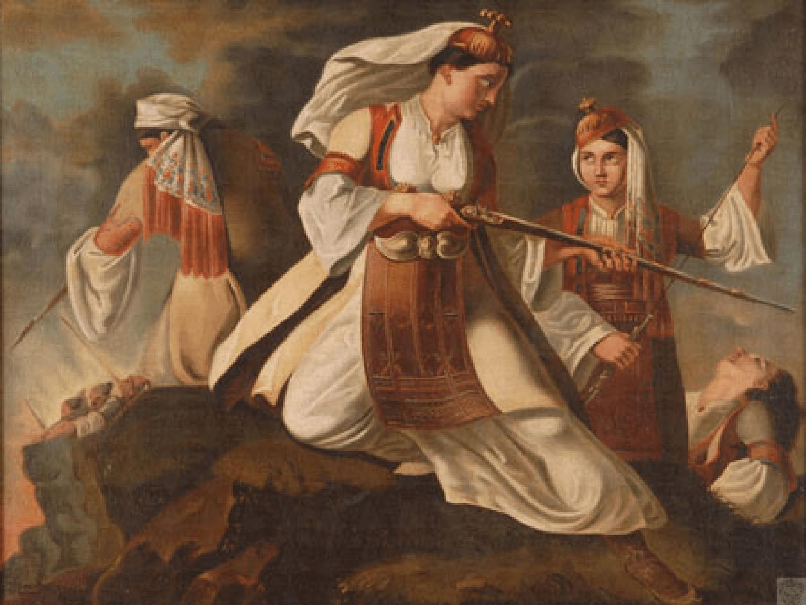 Η συμβολή των γυναικών στην επανάσταση του 1821.  Παράδειγμα 200 χρόνια μετά
